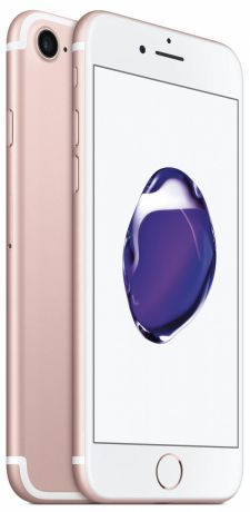 Телефон Apple iPhone 7 128Gb (Rose Gold)