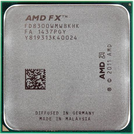 AMD AMD FX-8300 Socket AM3+, 3.3МГц, 8192 Кб