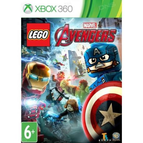Warner Bros Interactive LEGO: Marvel Мстители Xbox 360, Английский