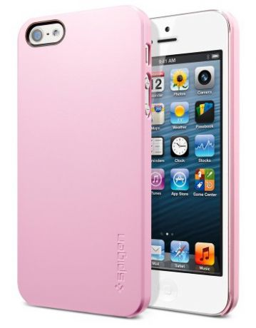 SGP Ultra Thin Air Series (SGP09506) - чехол для iPhone 5 (Sherbet Pink)