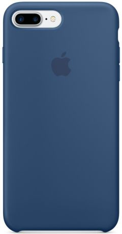 Apple Silicone Case (MMQX2ZM/A) - чехол для iPhone 7 Plus (Ocean Blue)