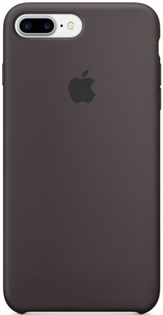 Apple Silicone Case (MMT12ZM/A) - чехол для iPhone 7 Plus (Cocoa)