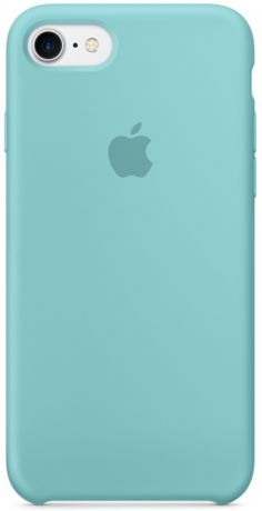 Apple Silicone Case (MMX02ZM/A) - чехол для iPhone 7 (Sea Blue)