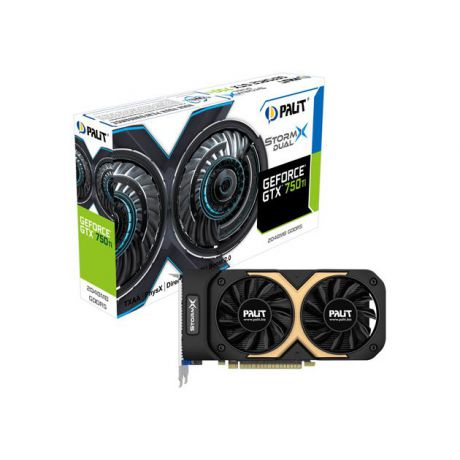 Palit Palit GeForce GTX 750 1202МГц, 3004, 2048Мб