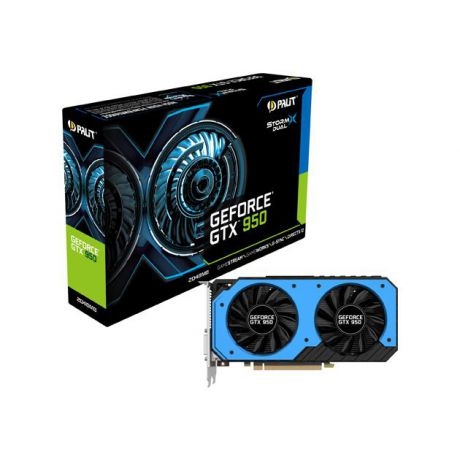 Palit Palit GeForce GTX 950 1064МГц, 2048Мб, 6610