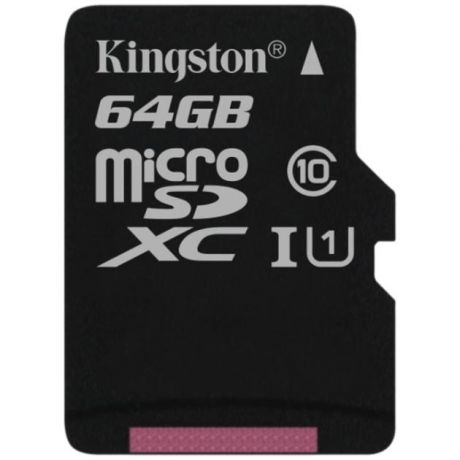 Kingston Kingston SDC10G2/*SP 64Гб, microSDHC, Class 10