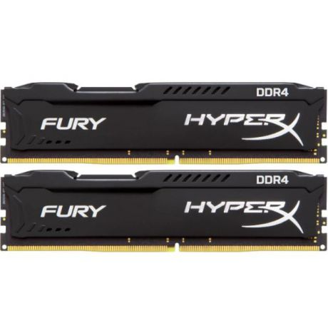 Kingston Kingston 32GB 2400MHz DDR4 CL15 DIMM Kit of 4 HyperX FURY Black