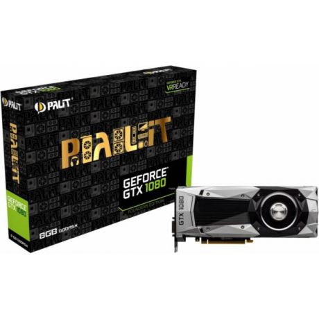 Palit Palit GeForce GTX 1080 1607МГц, 10000, 8192Мб