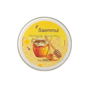 Saem Honey Скраб для губ медовый Saemmul Honey Lip Scrub Pot