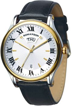 Romanson Часы Romanson TL0393MC(WH). Коллекция Gents Fashion