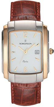 Romanson Часы Romanson TL1157SMJ(WH). Коллекция Gents Fashion