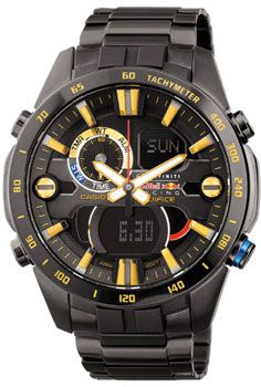 Casio Часы Casio ERA-201RBK-1A. Коллекция Edifice Infiniti Red Bull Racing