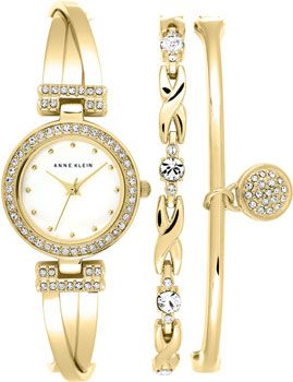 Anne Klein Часы Anne Klein 1868GBST. Коллекция Fashion time