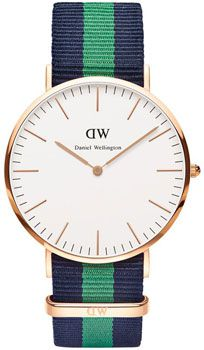 Daniel Wellington Часы Daniel Wellington 0105DW. Коллекция Warwick