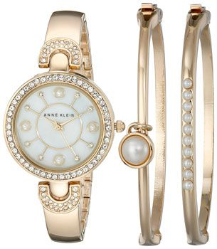 Anne Klein Часы Anne Klein 1960GBST. Коллекция Fashion time
