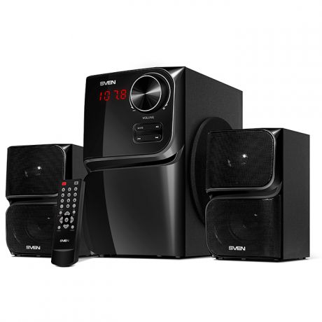 2.1 Колонки SVEN MS-305 10*2+20W Bluetooth Black
