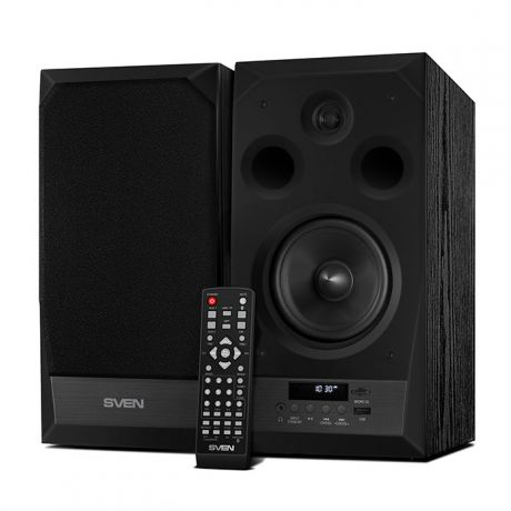 2.0 Колонки SVEN MC-20 2*45W Black USB