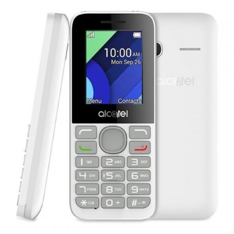 Alcatel One Touch 1054D Dual sim Pure White