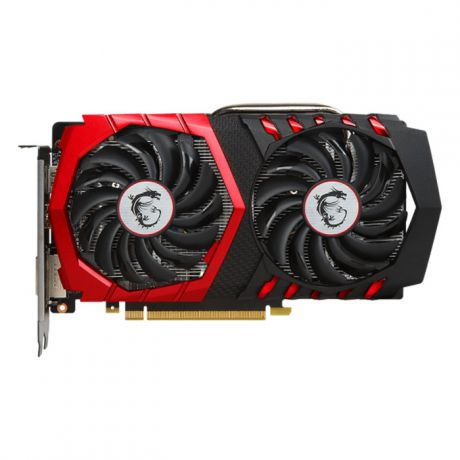 Видеокарта MSI GeForce GTX 1050 Ti 4096Mb, GAMING X 4G DVI-D, HDMI, DP Ret