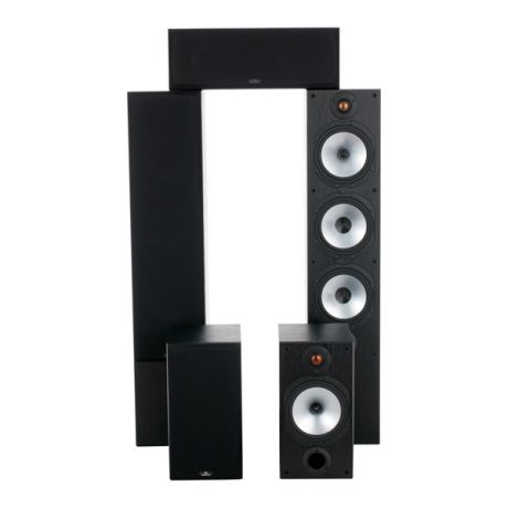 Monitor Audio Monitor Reference 5.0 System Black Oak
