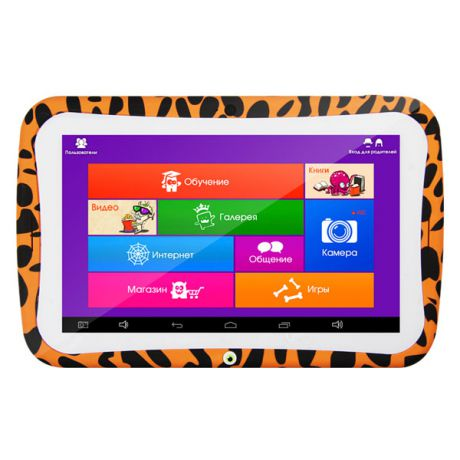 "Turbo MonsterPad 7"" 8Gb Wi-Fi Orange"