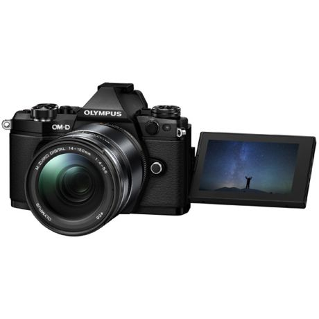 Olympus OM-D E-M5 Mark II 14-150 Kit Black