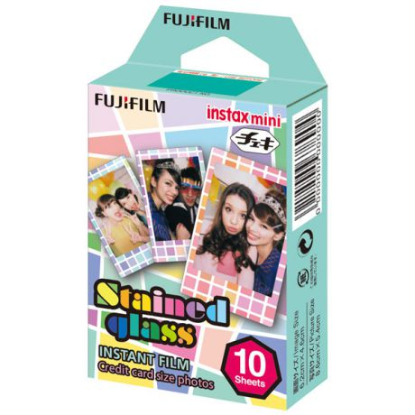 Fujifilm Instax Mini Stained glass 1 10/PK