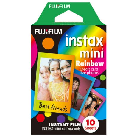 Fujifilm Colorfilm Instax Mini Rainbow WW1 10/PK