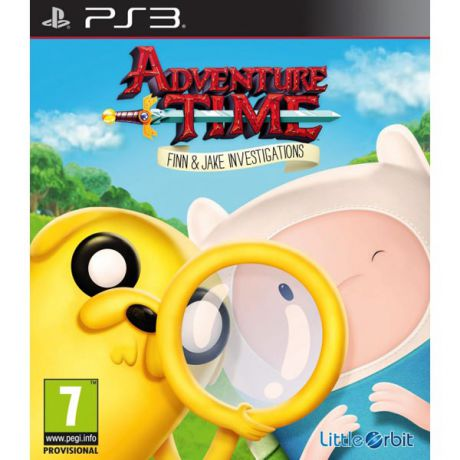 Медиа Adventure Time: Finn and Jake Investigations
