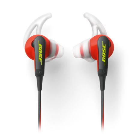 Bose SoundSport In-Ear Power Red to Apple