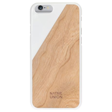 Native Union CLIC Wooden (CLIC-WHT-WD-6P)