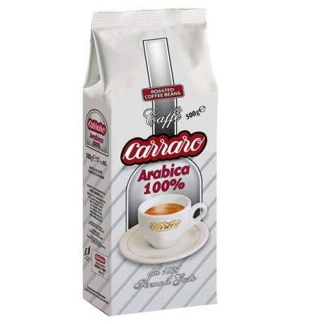 Carraro Arabica 100% 500гр.