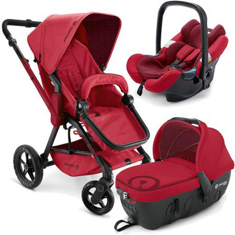 Коляска 3-в-1 Concord Wanderer Travel Set (ruby red)