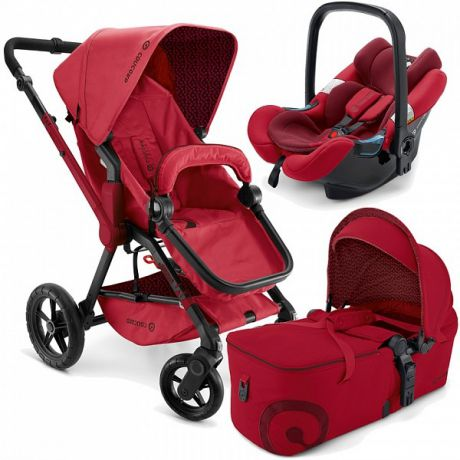 Коляска 3-в-1 Concord Wanderer Mobility Set (ruby red)