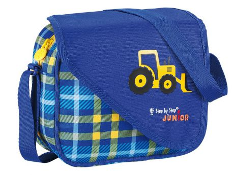 Сумка Hama Step By Step Junior Alpbag Boys Excavator синий желтый 3.5 л 129122