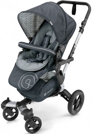 Коляска 3-в-1 Concord Neo Travel Set (graphite grey)