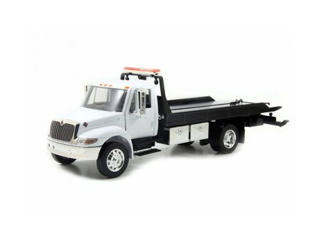 Автомобиль Jada Toys International Flat Bed Tow Truck Durastar 1:24 белый