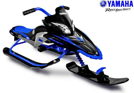 Снегокаты Snow Moto Apex Snow Bike Titanium black/blue синий до 40 кг пластик металл ym13001