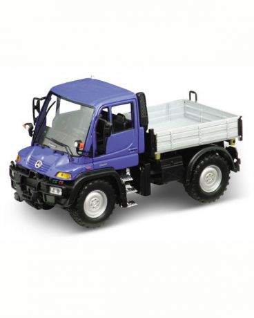 Welly Mercedes-Benz Unimog U400 с кузовом 1:32
