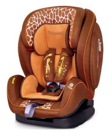 Welldon Encore Fit SideArmor & CuddleMe Isofix Giraffe Talk