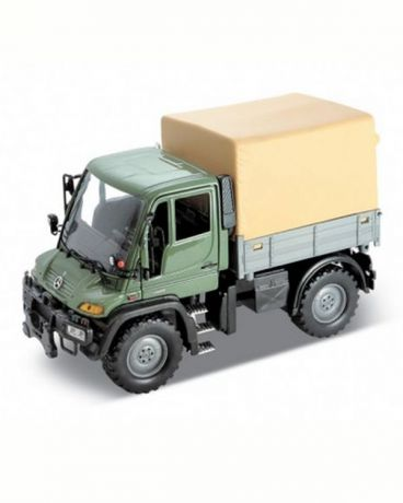 Welly Mercedes-Benz Unimog U400 с фургоном 1:32