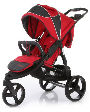 Baby Care прогулочная Jogger Cruze red
