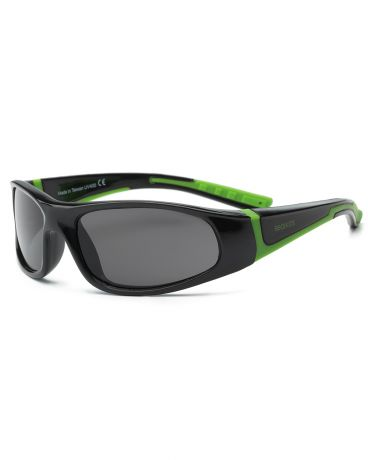 Real Kids Shades для мальчика 4-7 лет Bolt Black/Lime