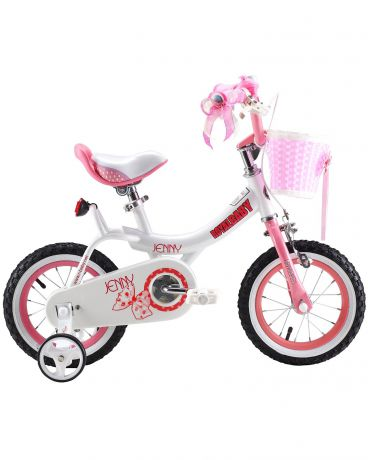 Royal Baby 12 дюймов розовый Princess Jenny girl bike
