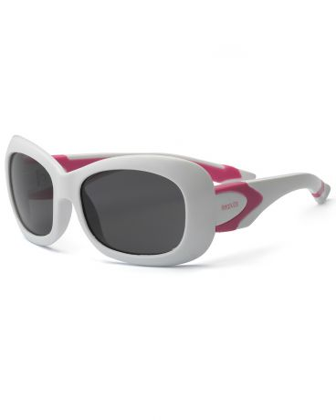 Real Kids Shades для девочки 7-12 лет Breeze P2 White/Hot Pink