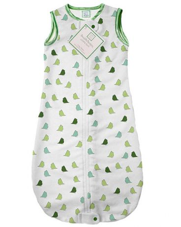 SwaddleDesigns zzZipMe Sack 3-6M Flannel PG Lt Chickies