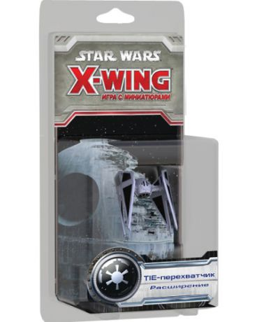 Hobby World Star Wars X-Wing TIE-перехватчик