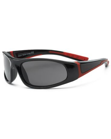 Real Kids Shades для мальчика 4-7 лет Bolt Black/Red