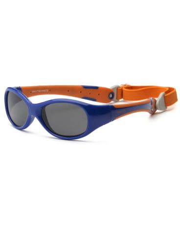 Real Kids Shades для новорожденных Explorer Navy/Orange