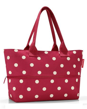 FineDesign Shopper E1 ruby dots